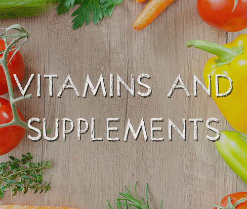 vitamins and supplements category